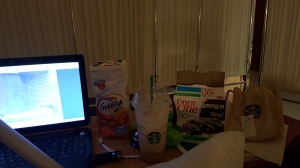 But I do have a pretty awesome survival kit to get me through the night.
